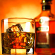 Stock Photo: Whiskey red