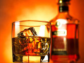 Whiskey red — Stock Photo