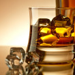 Whiskey on rocks — Stock Photo #6692224