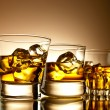 Whiskey on the rocks — Stock Photo #6692237