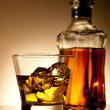 Whiskey on the rocks — Stock Photo #6720835