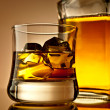 Whiskey on the rocks — Stock Photo #6720837