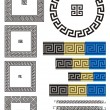 Stock Vector: Greek key pattern