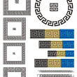 Greek key pattern - Stock Vector