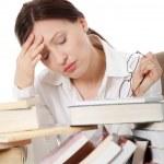 Mature woman reading — Stock Photo #5427667