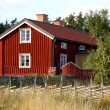 Scandinavian wooden cottage — Stock Photo #6448946