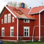 Scandinavian wooden cottage — Stock Photo #6448989
