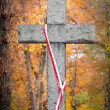 Stone cross — Stock Photo #6449240