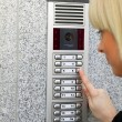 Video intercom — Stock Photo #6450073