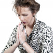 Woman praying — Stock Photo #5582642