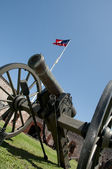Civil War Cannon — Foto Stock