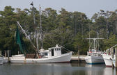 Shrimp Boat — Stock Photo