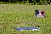 Military Grave — Stock Photo