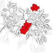 Floral background — 图库矢量图片