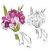 花の束 — ストックベクタ