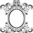 Antique Frame Engraving, Scalable And Editable Vector Illustrati — Stockvector #5973702