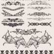 Vector de stock : Set Of Different Style Design Elements