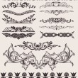 Set Of Different Style Design Elements - Imagens vectoriais em stock