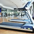 Foto Stock: Sport club gym, empty of