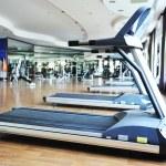 Sport club gym, empty of — Stock Photo