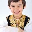 Royalty-Free Stock Photo: Posetive kid muslim