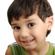 Photo of adorable young boy looking at camera — Stock Photo #6150634