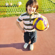 Young kid enjoying soccer — Stock Photo #6150648