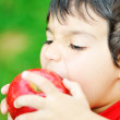 Eating an apple — Stock Photo #6150651