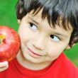 Eating an apple — Stock Photo #6150653