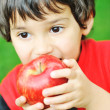 Eating an apple — Stock Photo #6150654