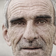 Elderly, old, mature man portrait — Stock Photo