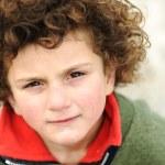 Little cute hispanic ( mixed race ) kid, portrait — Stock Photo