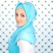 Stock Photo: Beautiful Muslim fashion girl