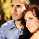 Portrait of love couple — Stock Photo
