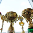 Trophy cups - Stock Photo
