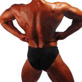 Bodybuilder's Back — Stock Photo