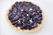 Fresh fruit pie — Stock Photo