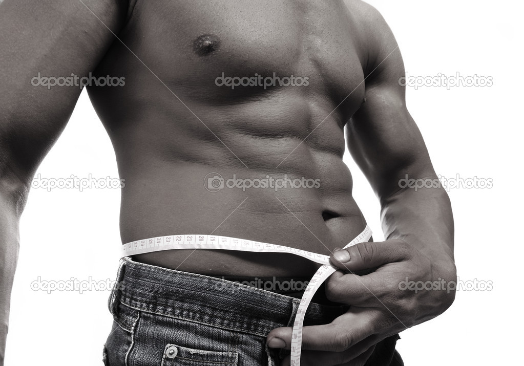 Strong man with a helthy body — Stock Photo #6150975