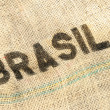 Brasil, old grunge background — Foto Stock
