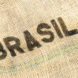 Brasil, old grunge background — Stock Photo