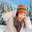 Stock Photo: Winter happiness