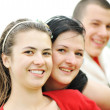 Teen friends outdoor — Stock Photo #6187830