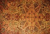 Beautiful gorgeous old grunge carpet background — Stock Photo