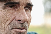 Old man with moustaches — Stock Photo