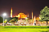 Istanbul, gorgeous night scene — Stock Photo