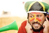 Problem with vuvuzela — Stock Photo