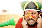 Problem with vuvuzela — Stock Photo