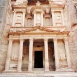 Petra, The imposing Monastery in Petra, Jordan — Stock Photo