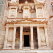 Stock Photo: Petra, imposing Monastery in Petra, Jordan
