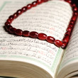Stock Photo: Koran, bead